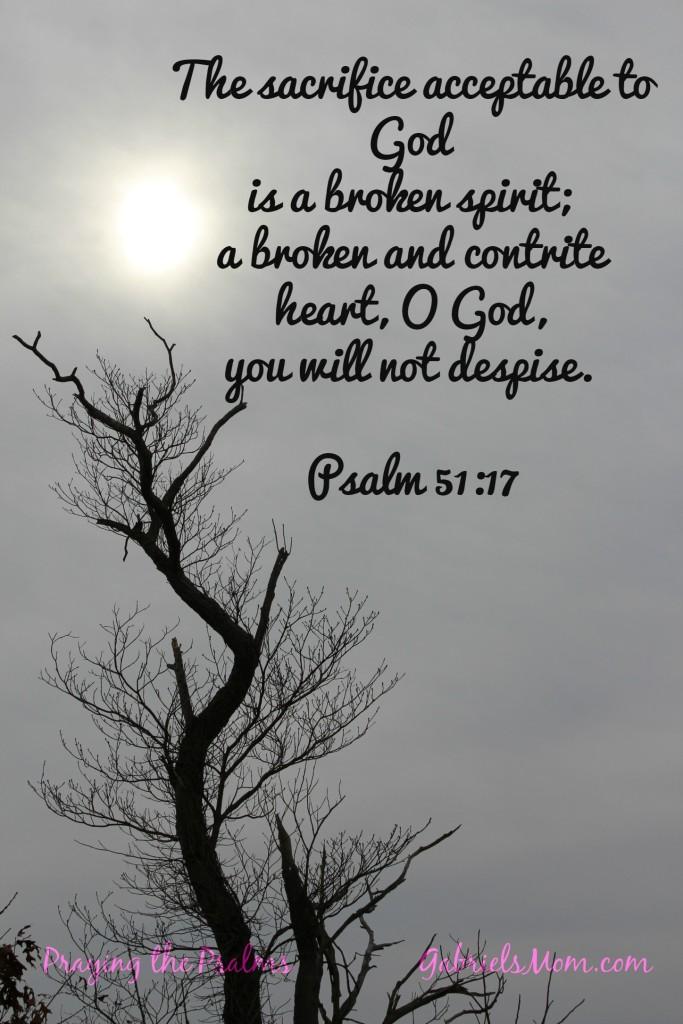 Psalm 51 17